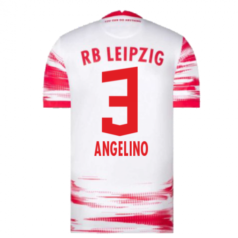 2021-2022 Red Bull Leipzig Home Shirt (White) (ANGELINO 3)