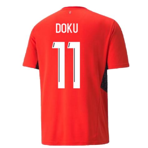 2021-2022 Stade Rennais Home Shirt (Doku 11)