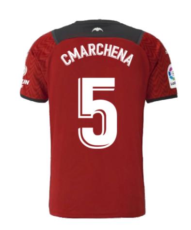 2021-2022 Valencia Away Shirt (C.MARCHENA 5)