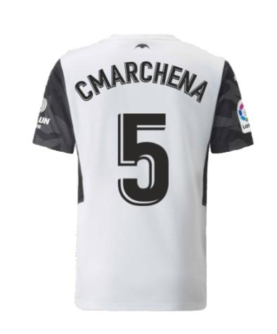 2021-2022 Valencia Home Shirt (Kids) (C.MARCHENA 5)