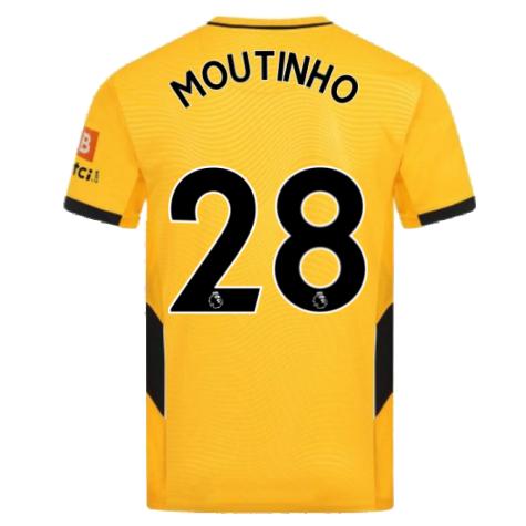 2021-2022 Wolves Home Shirt (MOUTINHO 28)