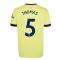 Arsenal 2021-2022 Away Shirt (Thomas 5)