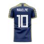 Argentina 2020-2021 Away Concept Football Kit (Viper) (RIQUELME 10)