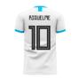 Argentina 2020-2021 Home Concept Football Kit (Libero) (RIQUELME 10)