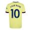 Arsenal 2021-2022 Away Shirt (Kids) (Your Name)