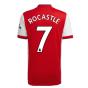 Arsenal 2021-2022 Home Shirt (ROCASTLE 7)