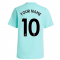 Arsenal 2021-2022 Training Tee (Acid Mint) (Your Name)