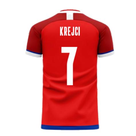 Czech Republic 2020-2021 Home Concept Kit (Libero) (KREJCI 7)