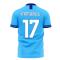 Lazio 2020-2021 Home Concept Football Kit (Libero) (Immobile 17)