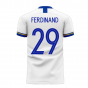 Leeds 2020-2021 Home Concept Football Kit (Fans Culture) (FERDINAND 29)