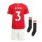 Man Utd 2021-2022 Home Mini Kit (IRWIN 3)