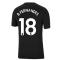 Man Utd 2021-2022 Tee (Black) (B FERNANDES 18)