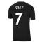 Man Utd 2021-2022 Tee (Black) (BEST 7)