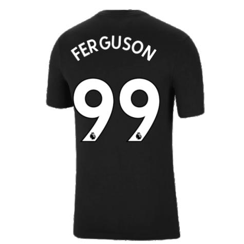 Man Utd 2021-2022 Tee (Black) (FERGUSON 99)