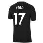 Man Utd 2021-2022 Tee (Black) (FRED 17)