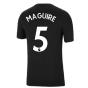 Man Utd 2021-2022 Tee (Black) (MAGUIRE 5)