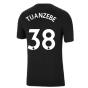 Man Utd 2021-2022 Tee (Black) (TUANZEBE 38)