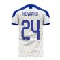 Merseyside 2020-2021 Away Concept Football Kit (HOWARD 24)