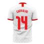 Portugal 2020-2021 Away Concept Football Kit (Libero) (CARVALHO 14)