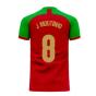 Portugal 2020-2021 Home Concept Football Kit (Fans Culture) (J Moutinho 8)