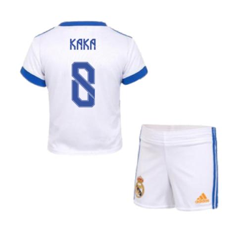 Real Madrid 2021-2022 Home Baby Kit (KAKA 8)