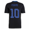 Real Madrid 2021-2022 Training Shirt (Black) (PUSKAS 10)