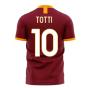 Roma 2020-2021 Home Concept Football Kit (Libero) (TOTTI 10)