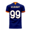 Roma 2020-2021 Third Concept Football Kit (Libero) (KLUIVERT 99)