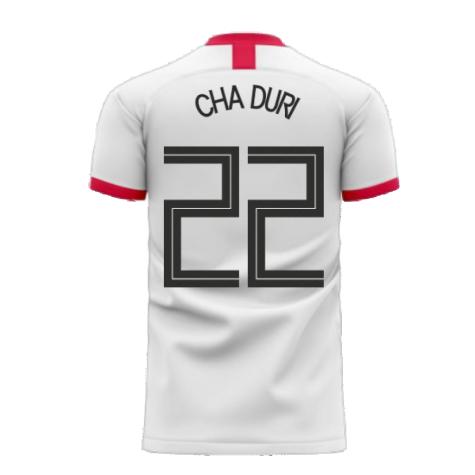 South Korea 2020-2021 Away Concept Football Kit (Libero) (CHA DURI 22)