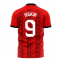 Turkey 2020-2021 Home Concept Football Kit (Libero) (H.SUKUR 9)