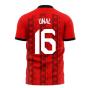 Turkey 2020-2021 Home Concept Football Kit (Libero) (UNAL 16)