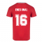 Turkey 2021 Polyester T-Shirt (Red) (ENES UNAL 16)