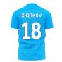 Zenit 2020-2021 Home Concept Football Kit (Libero) (ZHIRKOV 18)