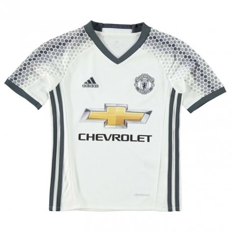 2016-17 Man Utd Third Shirt (Smalling 12) - Kids
