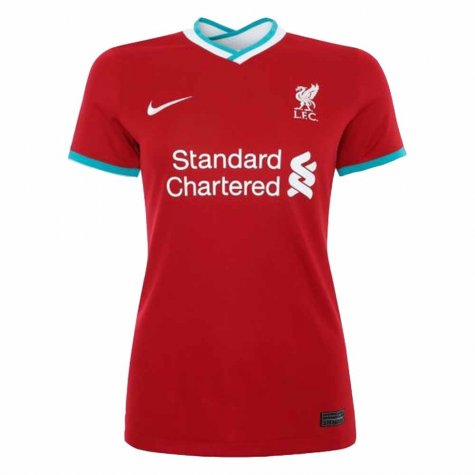 2020-2021 Liverpool Ladies Home Shirt (Your Name)