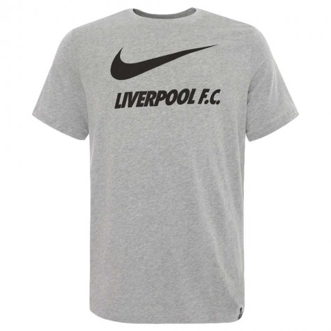 2020-2021 Liverpool Ground Tee (Grey) - Kids (CARRAGHER 23)