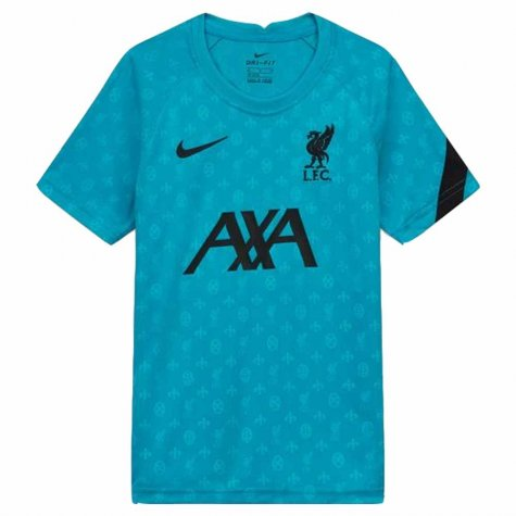 2020-2021 Liverpool Pre-Match Training Shirt (Energy) (Your Name)