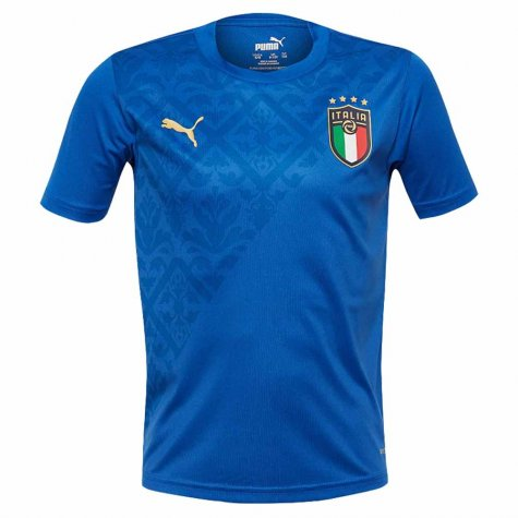 2020-2021 Italy Home Stadium Jersey (Blue) - Kids (BARELLA 18)