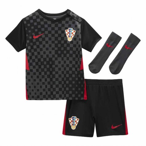 2020-2021 Croatia Little Boys Away Mini Kit (TUDOR 5)