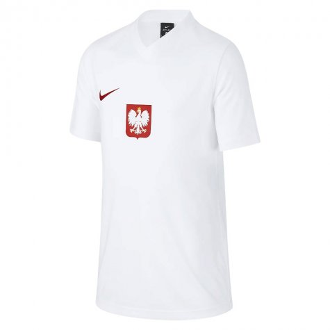 2020-2021 Poland Home Supporters Jersey - Kids (MILIK 7)