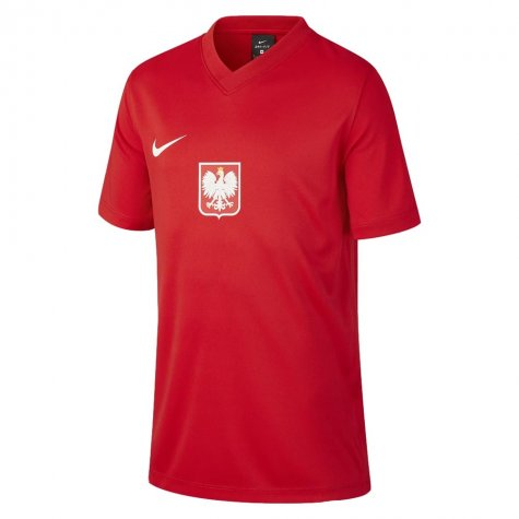 2020-2021 Poland Away Supporters Jersey (Kids) (GILK 15)