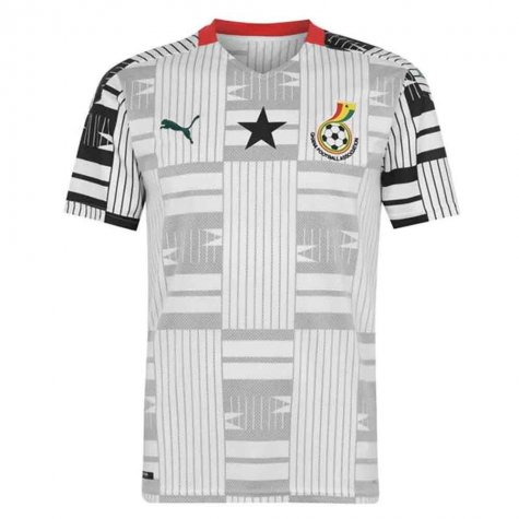 2020-2021 Ghana Home Shirt (YEBOAH 21)