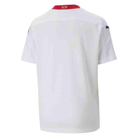 2020-2021 AC Milan Away Shirt (Kids) (BARESI 6)