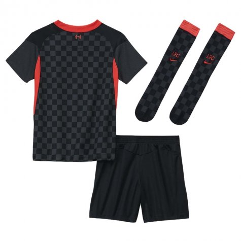 2020-2021 Liverpool 3rd Little Boys Mini Kit (FIRMINO 9)