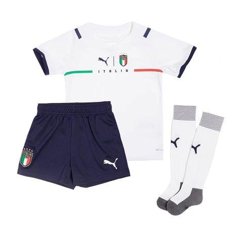 2021-2022 Italy Away Mini Kit (ZANIOLO 16)