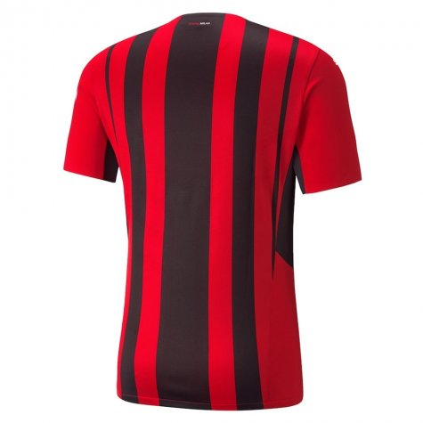 2021-2022 AC Milan Authentic Home Shirt (BARESI 6)