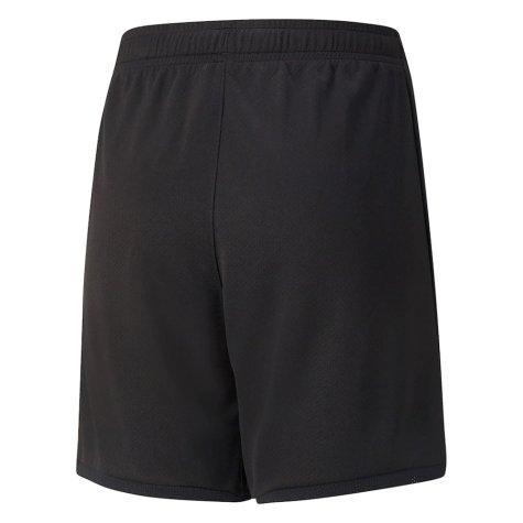 2021-2022 AC Milan Home Shorts (Black) - Kids