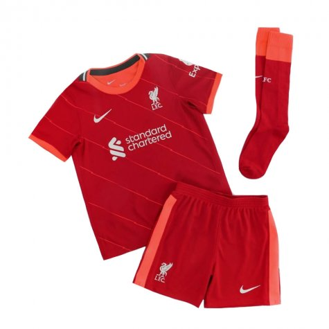 Liverpool 2021-2022 Home Little Boys Mini Kit (MILNER 7)