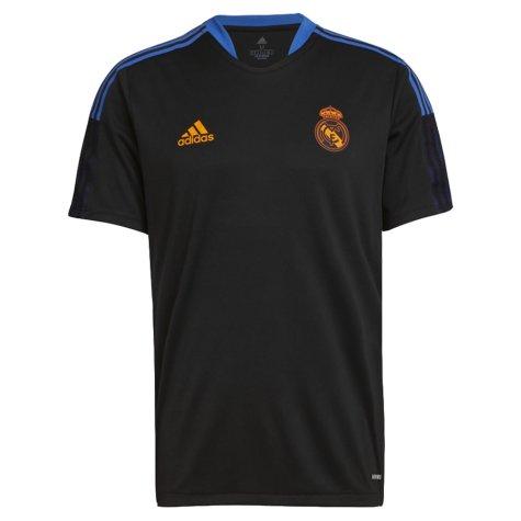 Real Madrid 2021-2022 Training Shirt (Black) (RAUL 7)