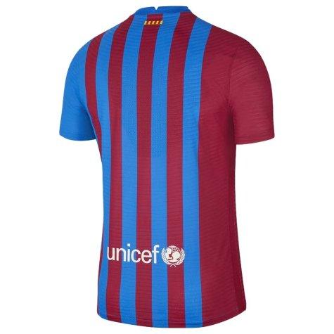 2021-2022 Barcelona Vapor Match Home Shirt (RIVALDO 10)